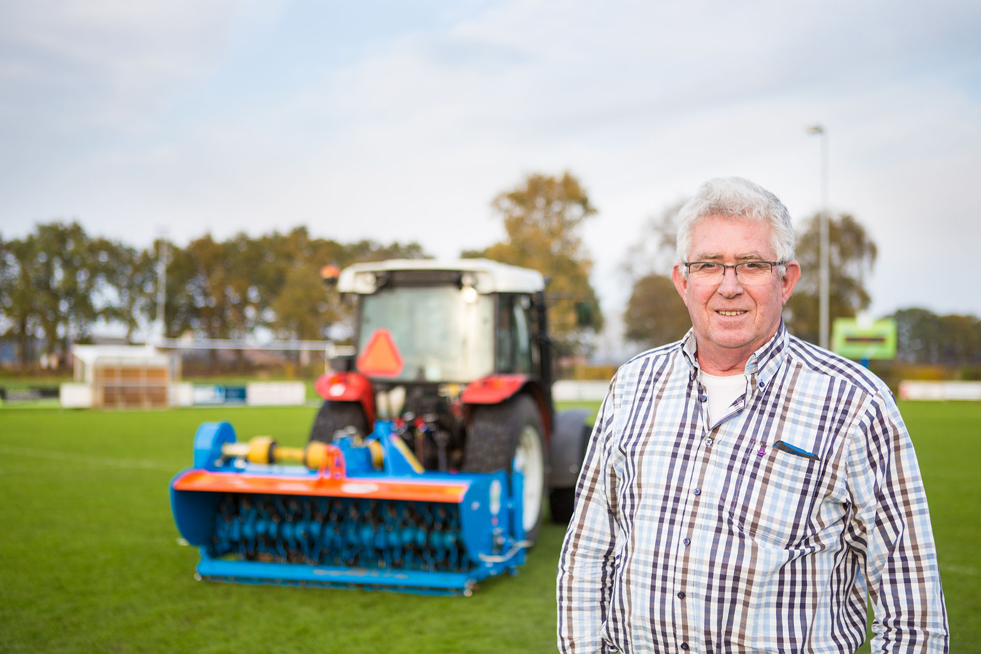 Image of VStrong: Scarify Sports Fields With Ease!